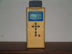 Wireless network finder meter