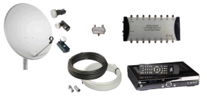 satellite tv repairs - satellite equipment